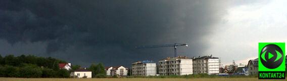 Wieczorne burze nad Polską