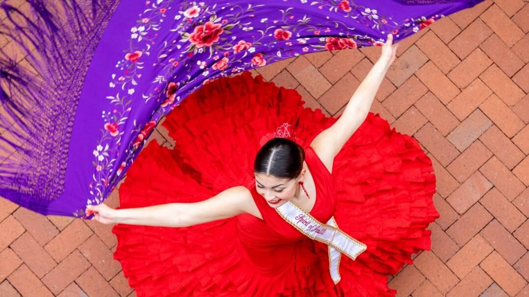 Tancerze flamenco zatańczyli razem bez wychodzenia z domu