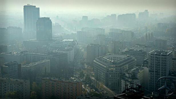 Smog nad Warszawą Stowarzyszenie Miasto Jest Nasze