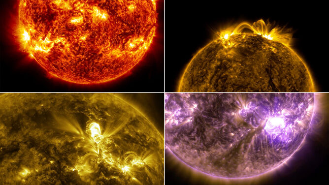 Słońce w wyjątkowej odsłonie. <br />Nasza dzienna gwiazda fascynuje