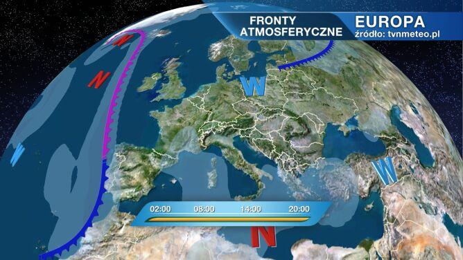 Pogodę w Polsce kształtuje wyż Burckhard