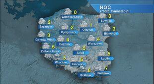 Prognoza pogody na noc 30.04/01.05